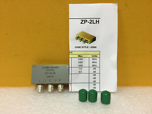 Mini circuits Zp 2lh 50 To 1000 Mhz Bnc f Coaxial Frequency Mixer Tested