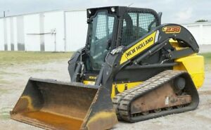 2012 New Holland C238 Skid Steer 90hp Am fm