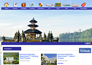 Travel Agency Website For Sale