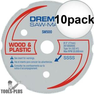 Dremel Sm500 Multipurpose Carbide Wheel 10x New