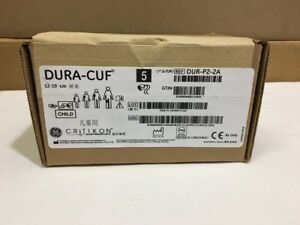 Ge Critikon Dura cuf Blood Pressure Cuff Child 12 19 Cm Ref Dur p2 2a 5 box