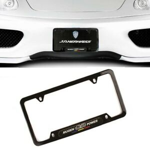 X2 Mugen Power Racing Abs Plastic License Plate Frame For Honda Civic Si Accord