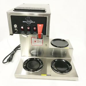Bloomfield 8572 Koffee King Automatic Commercial Coffee Brewer Maker W H2o