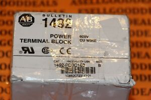 Allen bradley 1492 pd3c163 Power Terminal Block 380a 600v 3 pole New