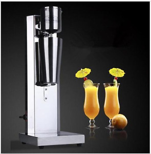Stainless Steel Single Head Milk Shake Machine Electric Bubble Tea Mixer 220v U