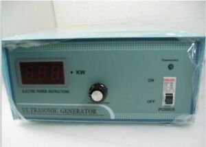 Ultrasonic Generator 0 600w Adjustable 20 40khz Optional Cleaning Application