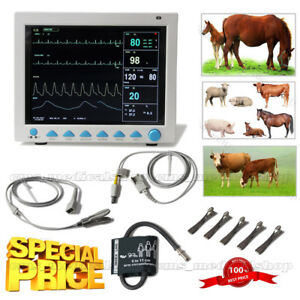 Animal Use veterinay 12 Tft Patient Monitor Multiparameter Icu ccu promotion