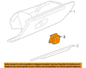Buick Gm Oem 97 04 Regal Century Glove Compartment Box Lock 10281138