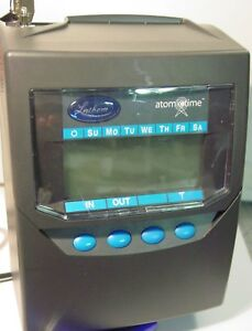 Lathem Totaling Time Recorder Card Punch stamp 7500e