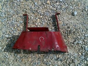Farmall C Sc Tractor Ih Pto Take Off Shield For Tractor W Belt Pulley