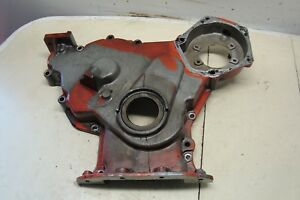 Case 1370 Tractor Front Timing Cover