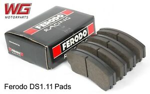 Ferodo Ds1 11 Brake Pads For Alcon Pnf0084x276 Calipers Pn Frp3018w