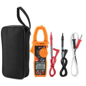 Pm2118 Digital Clamp Meter Ac Dc Multimeter Auto Ncv Temperature Capacitor Test