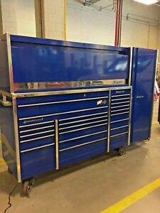 Snap On Toolbox With Hutch And Cabinet