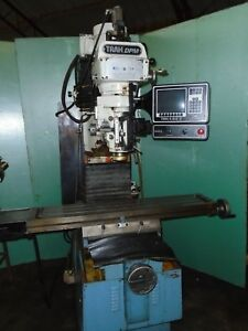 Cnc Vertical Milling Machine Prototrak 3 Axis Bed Milling Machine