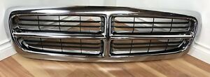 1997 2003 Dodge Durango Dakota Oem Chrome Front Upper Grille 55056092