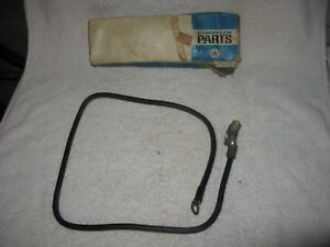 Nos Mopar 1960 S Dodge Truck Negative Battery Cable