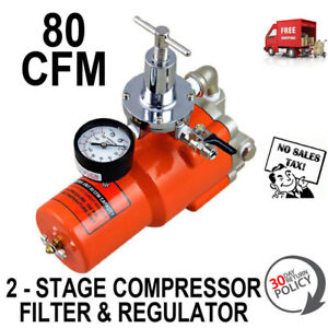 Regulator Filter For Air Compressor 2 Two Stage Dry Air Protect Tools Paint Guns