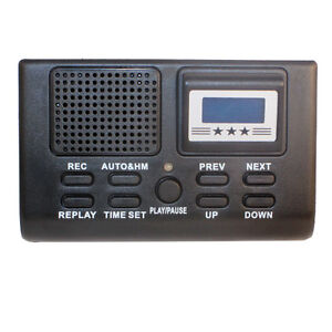 8gb Digital Telephone Phone Voice Recorder With Lcd Display Sd Card Slot