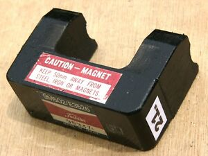 Strong Alnico 5 Horseshoe Magnet 1 Lb 6 Oz From Magnetron