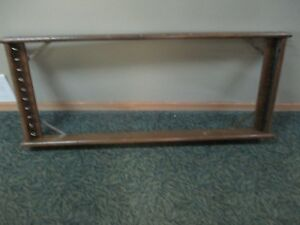 Vintage 1946 Pull Down School House Map Holder