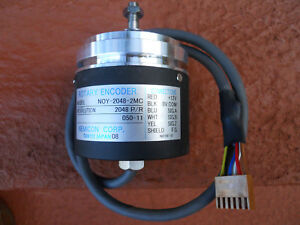 New Nemicon Noy 2048 2mc Radar Rotary Encoder