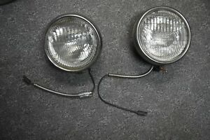 Original 1932 Ford Twolite Headlamps W 1928 31 Model A Glass Sealed Beam