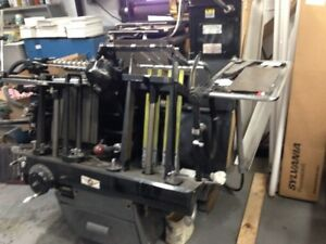 Heidelberg Windmill Press With Hot Foil Stamping