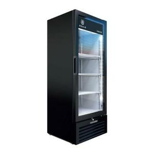 Beverage Air Mt12 1b 9 Cu Ft Black 1 door Marketeer Merchandiser Fridge