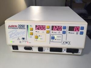 Bovie Aaron 2250 High Frequency Electrosurgical Generator Oem Upgraded 2018