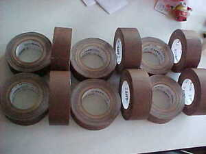 12 Rolls Of Brown Gaffers Tape 2 Wide American Made