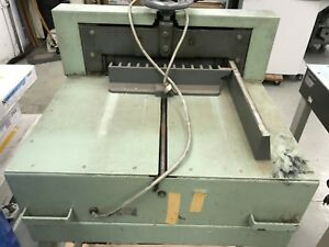 Triumph Paper Cutter Semi Automatic Power Cut With Two Spare Blades Look Save