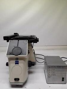 Zeiss Axivert 200m Motorized Inverted Microscope Stage Mac 5000 Ps System