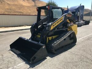 New holland C238 Very Low Hours California Loader 2013 Hi Flow Clean
