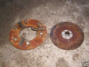 Farmall H Hv O4 Tractor Engine Clutch And Pressure Plate