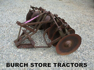 Heavy Duty 3 Point Hitch Bog Disc Harrow