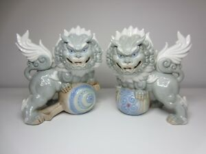 Gorgeous Japanese Foo Dogs Yoshimi K Made In Japan Lots Of Character