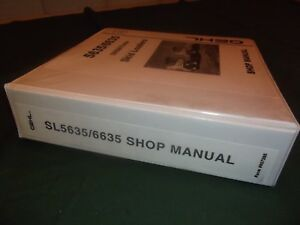 Gehl Sl 5635 Sl 6635 Sx Dx Skid Steer Loader Service Shop Repair Workshop Manual
