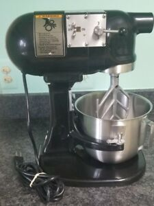 Hobart N50 5 Qt Commercial Mixer Plum Black With 5 Quart Bowl And Beater Rare