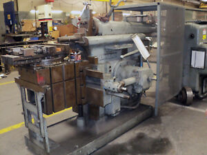 24 Rockford Hydraulic Horizontal Metal Shaper Linear Cutter 5hp
