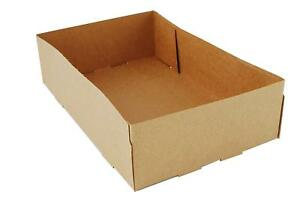 Southern Champion Tray Kraft Paperboard 4 Corner Pop Up Food Tray 9 Length X 5