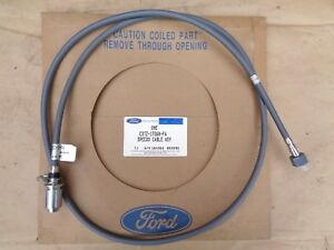 Nos 1963 Ford Truck Speedometer Cable Original C3tz 17260 fa 70 Long