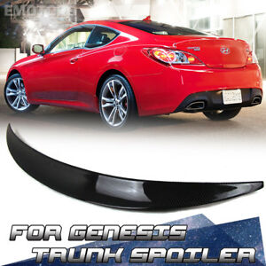 Ship From La Carbon Genesis Performance Type Coupe 2014 Rear Trunk Spoiler