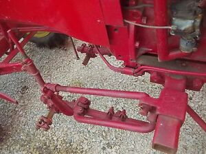 Massey Harris Pony Tractor Front Right Mh Cultivator Bracket Springs