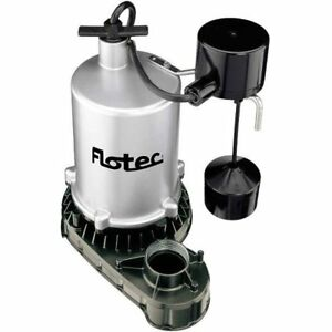 Flotec Fpzt7350 Submersible High Output Sump Pump Vertical Switch