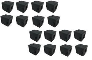 Ferrite Clamp On Cores Clamp on Filter Black 120ohms 100mhz Lot Of 16
