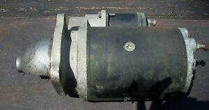 Case David Brown 1410 Tractor Starter Lucas 2695155a K919752