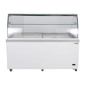 Maxx Cold 12 Flavor 20cu Ft Commercial Ice Cream Dipping Cabinet Freezer