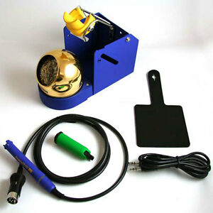 Hakko Fm2027 06 Solder Iron Conversion Kit With Iron Holder Green Sleeve