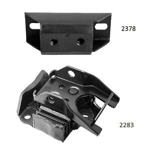 2 Pcs Front Motor Auto Trans Mount Fit 72 Chevy Kingswood 6 6l 402 Thm350 3spd